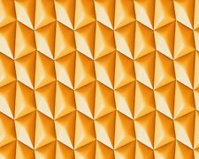 AS Creations 'Harmony in Motion' Wallpaper by Mac Stopa-Flutey Orange