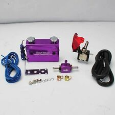 DUAL STAGE SETTING W/ ROCKET SWITCH TURBO WASTEGATE BOOST CONTROLLER PURPLE