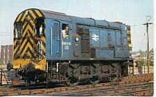 Class 09 diesel Shunter 09016 Brighton 1978 unused OPC postcard