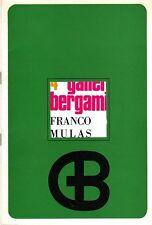 MULAS Franco, Franco Mulas. Galleria Bergamini