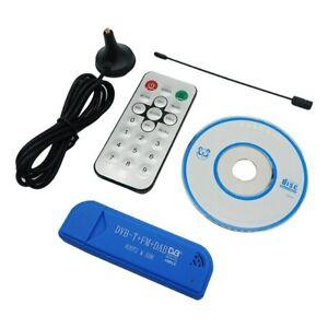TV Tuner USB2.0 Blue TV Stick DAB FM DVB-T RTL2832U R820T SDR RTL-SDR Dongle Sti