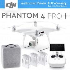 "DJI PHANTOM 4 PRO+ PLUS DRONE Camera 4K 20MP. 5.5"" DISPLAY + 2 EXTRA BATTERIES"