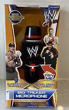 WWE BIG TALKER MICROPHONE -  RARE - IN BOX - JOHN CENA, SHEAMUS, BRODUS CLAY
