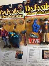 "Paul McCartney Ringo Starr Signed Autograph Beatles Mcfarlane 7""  figure JSA LOA"