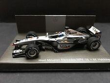Minichamps - Mika Hakkinen - McLaren - Mp4/16 - 2001 -1:18 -  Mercedes Promo