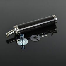 350MM Carbon Fiber Exhaust Muffler Slip-0n for Honda Yamaha Scooter Motorcycle