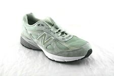 MEN'S NEW BALANCE M990SM4 SILVER MINT RUNNING SHOE MADE IN USA