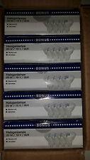 4x Halogenlampe 12V / 20W / GU4 NEU & OVP