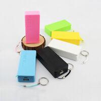 5600mAh 2X 18650 External USB Power Bank Battery Charger Box Case Holder DIY sl