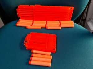 Nerf magazine Cartridge and bullets - Bundle 18 and 6