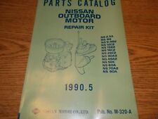 Nissan M-320-A Outboard Boat Motor Parts Catalog Ns 2.5A Etc. See Picture