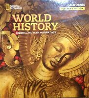 National Geographic World History Medieval Early Modern Times Teacher Edition