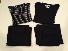New freelance QVC womens tops pants skirt modal small lot of 4 nwt