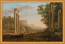 Capriccio with ruins of the Roman Forum Claude Lorrain Italien Rom B A2 01212
