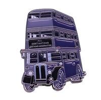 KNIGHT BUS PIN HARRY POTTER ENAMEL PINS BADGE HP NEW UK HOGWARTS NIGHT BUS