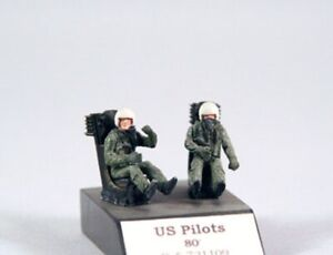 1/72 PJ PRODUCTION US PILOTS SEATED IN A/C (80s)