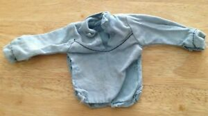 """VINTAGE 1970`s """"MARX LONE RANGER"""" BLUE TOP WITH POPPERS"""