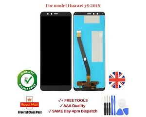 For Huawei Y9 2018 LCD Display Touch Screen Black Replacement  Digitizer