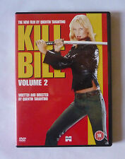KILL BILL VOLUME 2 DVD - DIRECTED BY QUENTIN TARANTINO - VERY GOOD CONDITION
