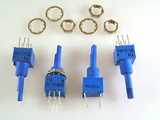 Bourns 3310H-111-103 Panel Fit Potentiometer 10K Ohm 3mm Shaft 4 pieces OM1070B