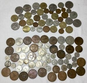 MIXED LOT OF IRISH COINS NEW & OLD