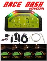 Car Dash Race Display Bluetooth Full Sensor Kit Dashboard LCD Screen Rally Gauge
