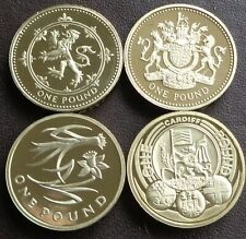 More details for 1983 - 2021 elizabeth ii £1 (one pound) proof coin - choose your year