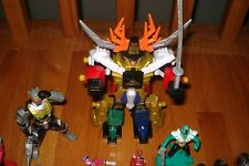Power Rangers LOT  Megazords  AND OTHER ACTION FIGURES FROM POWER RANGERS