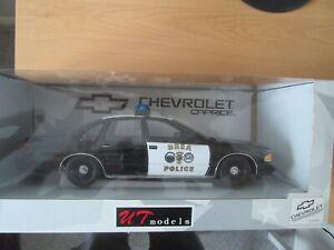 UT Models- No UT0597- 1/18 scale- Chevrolet Caprice BREA Police Car..Mint In Box