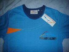 Oficial Fernando Alonso t'shirt - Aqua-todos Los Tamaños-BNWT-Ideal Regalo F1