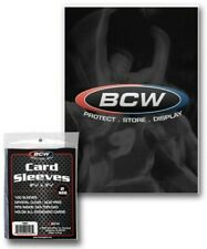 BCW Standard 3 x 4 Trading Card Sleeves - Qty. 100