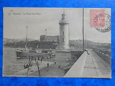 MARSEILLE  :  Le Phare Ste-Marie.....VO.1906.