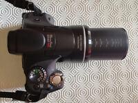 FOTOCAMERA DIGITALE CANON POWERSHOT SX40 HS BRIDGE ZOOM 35X + CUSTODIA .