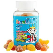 Multi-Vitamin, Mineral Vegetables Fruits & Fibre, For Kids 60 Gummies Gummi King