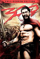 300 (DVD, 2007, Full Frame) Gerard Butler, vincent Regan  ***Brand NEW!!***