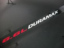 New 6.6L DURAMAX Hood sticker emblem decals Turbo Diesel 2013 Silverado 2500 HD