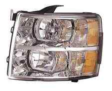 New Chevy Silverado 1500 / 2500 / 3500 2007 2008 2009 2010 left driver headlight