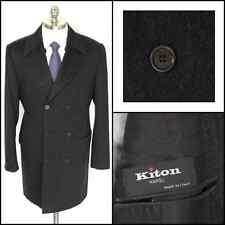 $8K NWT KITON Double Breasted 100% Cashmere Trench Coat Jacket 52 42 R / L NWT