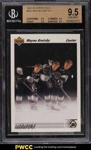 1991 Upper Deck Hockey Wayne Gretzky #437 BGS 9.5 GEM MINT