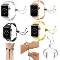 Strap Stainless Steel Watchband Band Bracelet For Apple Watch 1/2/3 iWatch 38/42