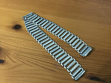 RARE WEST END S/STEEL BAMBOO MILITARY BONKLIP STYLE GENTS WATCH STRAP,18MM (C-2)
