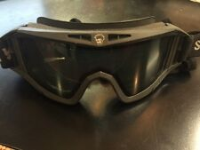 Save Phace Elite Series Tactical Goggles, Dark Smoke & Yellow Lenses