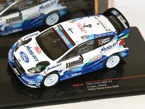 1/43 Ford Fiesta WRC MS-RT  Rally Monte Carlo 2020 #4  E.Lappi