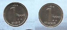 1 frank 1998 fr+vl * uit muntenset * FDC / UNC *