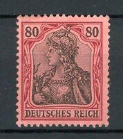 Deutsches Reich MiNr. 77 mit Falz (V635