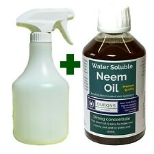 More details for neem spray bottle & water soluble neem oil make a neem spray up to 25 litres
