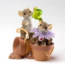 Charming Tails 'It Takes A Long Time To Grow' Garden Mice Mouse Gift, 4020485