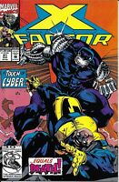 X-Factor Comic Issue 81 Modern Age First Print 1992 Peter David Stroman Milgrom