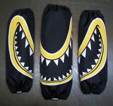 SHOCK COVER ,PROTECTEUR D'AMORTISSEUR,CAN AM RYKER SET OF 3 YELLOW MONSTER