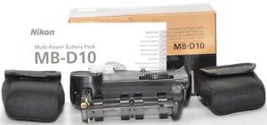 Original Nikon Multifunktionshandgriff Batteriegriff MB-D10 D300 D700 D300S #aa